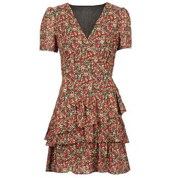 Oblačila Ženske Kratke obleke Moony Mood ORNAMA Rdeča
