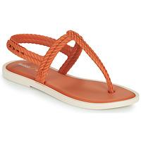 Čevlji  Ženske Japonke Melissa FLASH SANDAL & SALINAS Oranžna / Bež