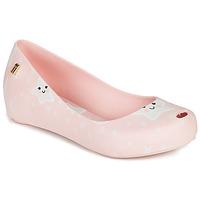 Čevlji  Deklice Sandali & Odprti čevlji Melissa MEL ULTRAGIRL SWEET DREAMS Rožnata / Bela