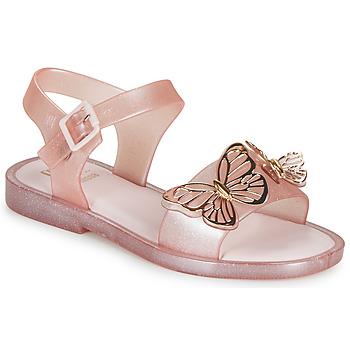 Čevlji  Deklice Sandali & Odprti čevlji Melissa MEL MAR SANDAL FLY Rožnata / Zlata