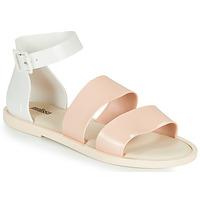 Čevlji  Ženske Sandali & Odprti čevlji Melissa MELISSA MODEL SANDAL Bela / Rožnata