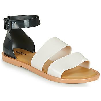 Čevlji  Ženske Sandali & Odprti čevlji Melissa MELISSA MODEL SANDAL Bela / Črna
