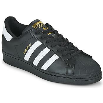 Čevlji  Nizke superge adidas Originals SUPERSTAR Črna / Bela