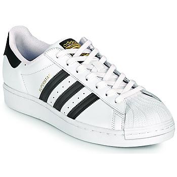 Čevlji  Nizke superge adidas Originals SUPERSTAR Bela / Črna