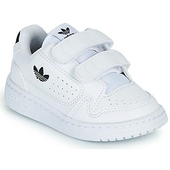 Čevlji  Otroci Nizke superge adidas Originals NY 92 CF I Bela / Črna