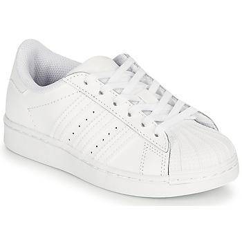 Čevlji  Otroci Nizke superge adidas Originals SUPERSTAR C Bela
