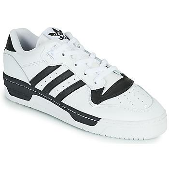 Čevlji  Nizke superge adidas Originals RIVALRY LOW Bela / Črna