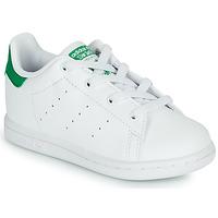 Čevlji  Otroci Nizke superge adidas Originals STAN SMITH EL I SUSTAINABLE Bela / Zelena
