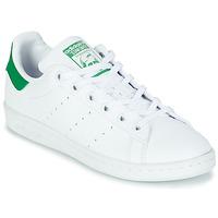 Čevlji  Otroci Nizke superge adidas Originals STAN SMITH J SUSTAINABLE Bela / Zelena