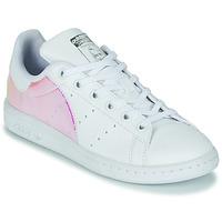 Čevlji  Deklice Nizke superge adidas Originals STAN SMITH J SUSTAINABLE Bela
