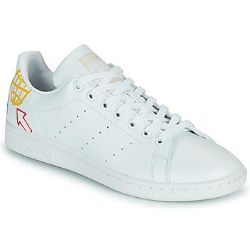 Čevlji  Ženske Nizke superge adidas Originals STAN SMITH W SUSTAINABLE Bela / Večbarvna