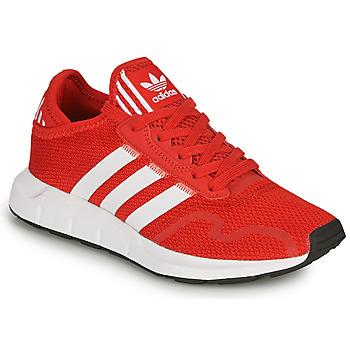 Čevlji  Otroci Nizke superge adidas Originals SWIFT RUN X J Rdeča
