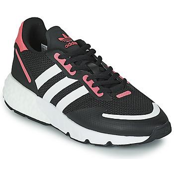 Čevlji  Ženske Nizke superge adidas Originals ZX 1K BOOST W Črna / Rožnata