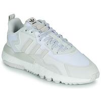 Čevlji  Nizke superge adidas Originals NITE JOGGER Bela
