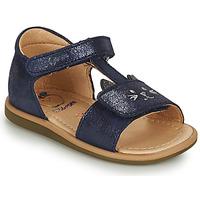 Čevlji  Deklice Sandali & Odprti čevlji Shoo Pom TITY MIAOU Modra