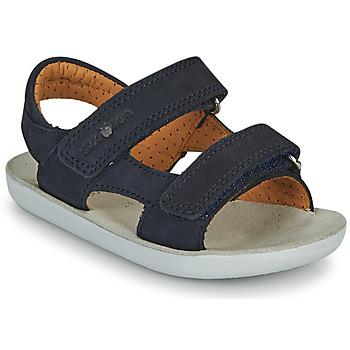 Čevlji  Dečki Sandali & Odprti čevlji Shoo Pom GOA BOY SCRATCH Modra