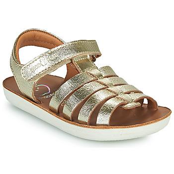 Čevlji  Deklice Sandali & Odprti čevlji Shoo Pom GOA SPART Srebrna