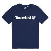 Oblačila Dečki Majice s kratkimi rokavi Timberland VUILL Modra