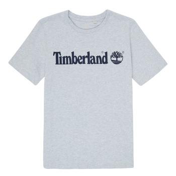 Oblačila Dečki Majice s kratkimi rokavi Timberland NINNO Siva