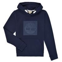 Oblačila Dečki Puloverji Timberland MOMMO Modra