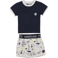 Oblačila Dečki Otroški kompleti Timberland PITTI Večbarvna