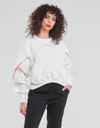 Oblačila Ženske Puloverji Converse BLOCKED ALTERRAIN CREW Bela