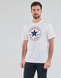 Oblačila Moški Majice s kratkimi rokavi Converse NOVA CHUCK PATCH TEE Bela
