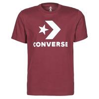 Oblačila Moški Majice s kratkimi rokavi Converse STAR CHEVRON TEE Bordo