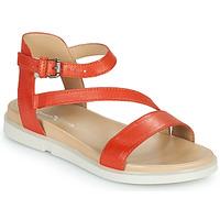 Čevlji  Ženske Sandali & Odprti čevlji Dream in Green OURY Oranžna