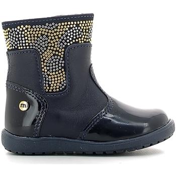 Čevlji  Otroci škornji za dež  Melania ME1127B6I.B Modra