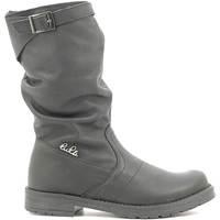 Čevlji  Otroci Mestni škornji    Lulu LL1000017L Črna