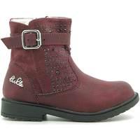 Čevlji  Otroci Polškornji Lulu LL140006S Rdeča
