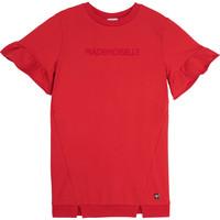 Oblačila Deklice Kratke obleke Carrément Beau Y12234-992 Rdeča