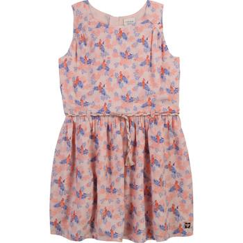 Oblačila Deklice Kratke obleke Carrément Beau Y12247-44L Rožnata