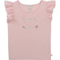 Oblačila Deklice Majice s kratkimi rokavi Carrément Beau Y15378-44L Rožnata