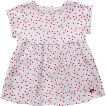 Oblačila Deklice Kratke obleke Carrément Beau Y92119-10B Bela
