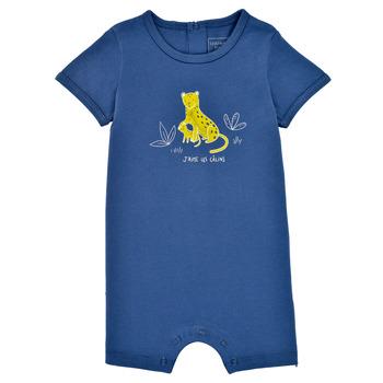 Oblačila Dečki Kombinezoni Carrément Beau Y94205-827 Modra