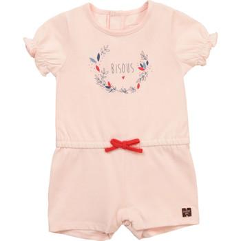 Oblačila Deklice Kombinezoni Carrément Beau Y94234-44L Rožnata