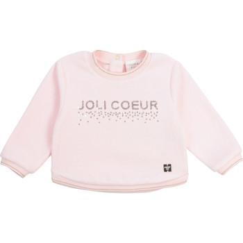 Oblačila Deklice Puloverji Carrément Beau Y95254-44L Rožnata