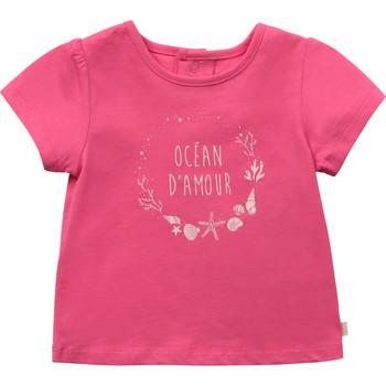Oblačila Deklice Majice s kratkimi rokavi Carrément Beau Y95270-46C Rožnata