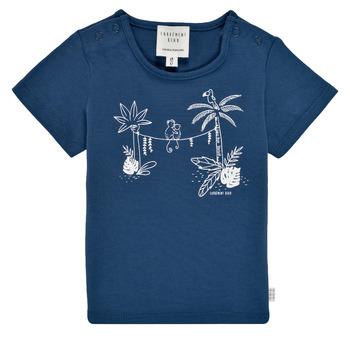 Oblačila Dečki Majice s kratkimi rokavi Carrément Beau Y95274-827 Modra