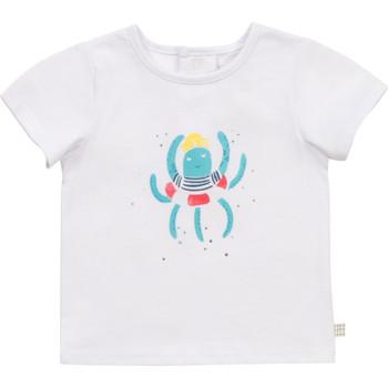 Oblačila Dečki Majice s kratkimi rokavi Carrément Beau Y95275-10B Bela