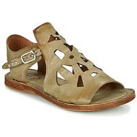 Čevlji  Ženske Sandali & Odprti čevlji Airstep / A.S.98 RAMOS PERF Kaki