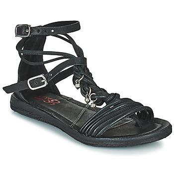 Čevlji  Ženske Sandali & Odprti čevlji Airstep / A.S.98 RAMOS TORSADE Črna