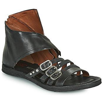 Čevlji  Ženske Sandali & Odprti čevlji Airstep / A.S.98 RAMOS HIGH Črna