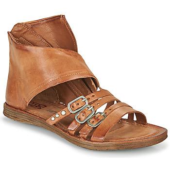 Čevlji  Ženske Sandali & Odprti čevlji Airstep / A.S.98 RAMOS HIGH Kamel