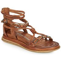 Čevlji  Ženske Sandali & Odprti čevlji Airstep / A.S.98 POLA SQUARE Kamel