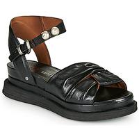 Čevlji  Ženske Sandali & Odprti čevlji Airstep / A.S.98 LAGOS NODE Črna