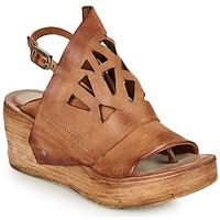 Čevlji  Ženske Sandali & Odprti čevlji Airstep / A.S.98 NOA GRAPH Kamel