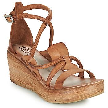 Čevlji  Ženske Sandali & Odprti čevlji Airstep / A.S.98 NOA STRAP Kamel